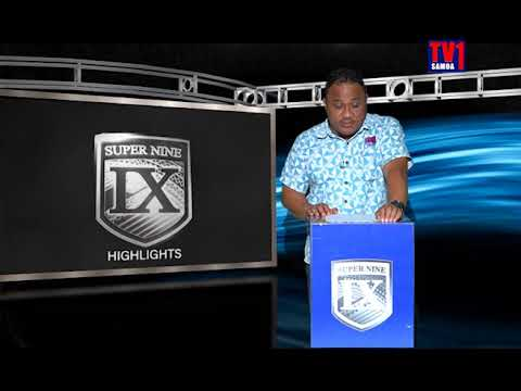 TV1 Samoa - Round 3 Super 9 2017 Highlights