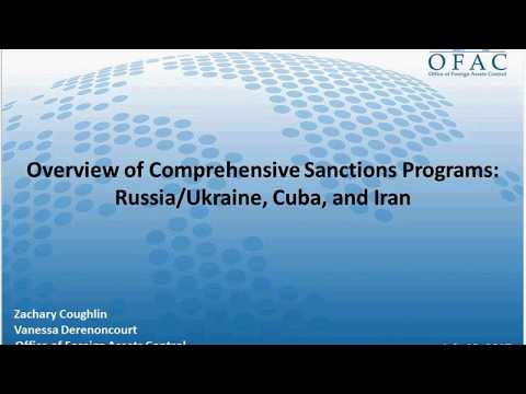 7. OFAC Specific Country Issues