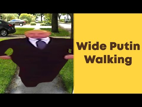 Wide Putin Walking. Ukulele tutorial