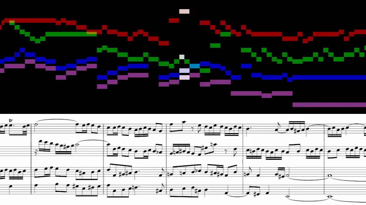 BWV 861 - WTC, Book 1: Prelude and Fugue No. 16