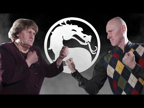 НАШИ РОДИТЕЛИ играют в MORTAL KOMBAT X - Видео онлайн