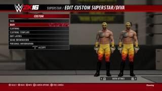 WWE 2K16 Prince Puma (CAW) formula tutorial