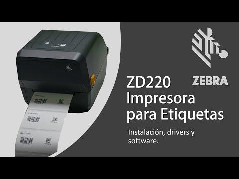 zebra-zd220-impresora-para-etiquetas,-instalación,-drivers-y-software