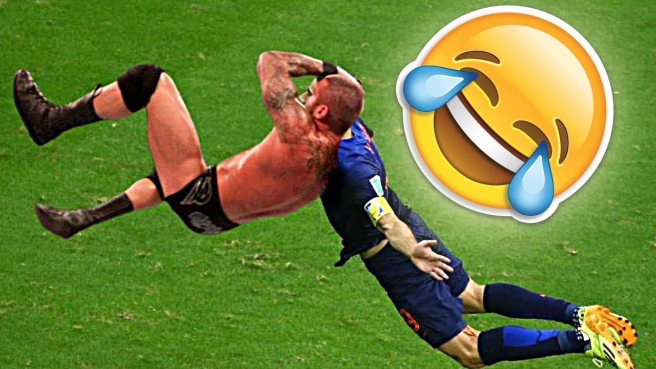 مقاطع مضحكة كرة القدم