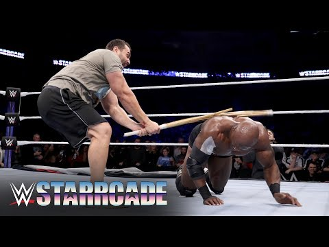 Rusev attacks Bobby Lashley: WWE Starrcade 2019 (WWE Network Exclusive)