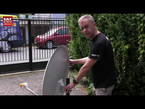 Poradnik: Jak ustawić antenę na satelitę Hot Bird?