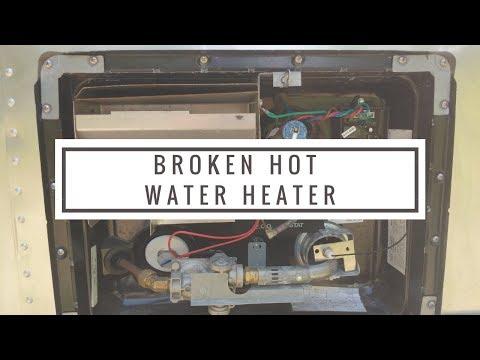 Broken Atwood RV Water Heater (Troubleshooting And Repair)