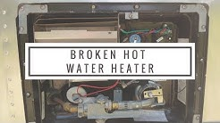 Broken Atwood RV Water Heater (Troubleshooting and Repair)