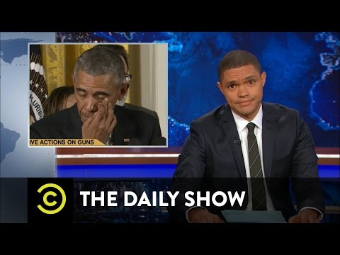 Thumbnail: President Obama Targets Gun Violence: The Daily Show