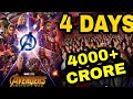 Avengers Infinity War Day 4 Boxoffice Collection, Infinity war breaks all HOLLYWOOD Record