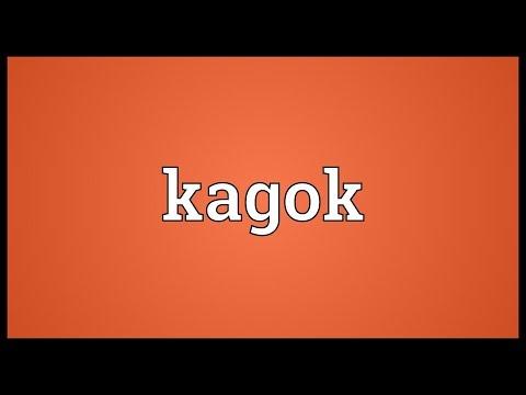 Kagok Meaning