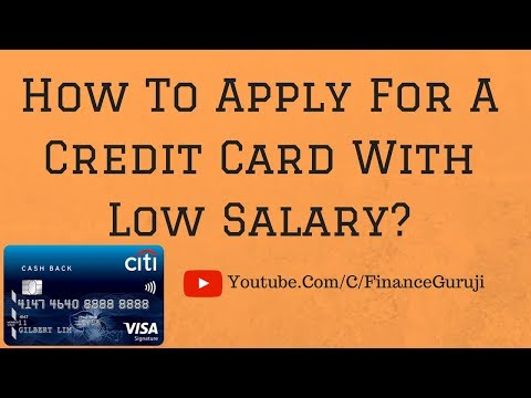 [Hindi] How To Apply For A Credit Card With A Low Salary?🙄