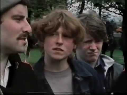 Green Flutes 1984 A Documentary About Activism and Social Conditions In Glasgow   part 1