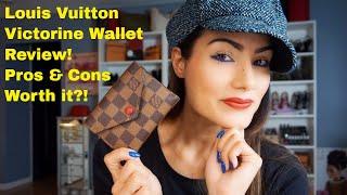 Video Louis Vuitton - Victorine Wallet Review - Damier Ebene Print! download MP3, 3GP, MP4, WEBM, AVI, FLV Juni 2018