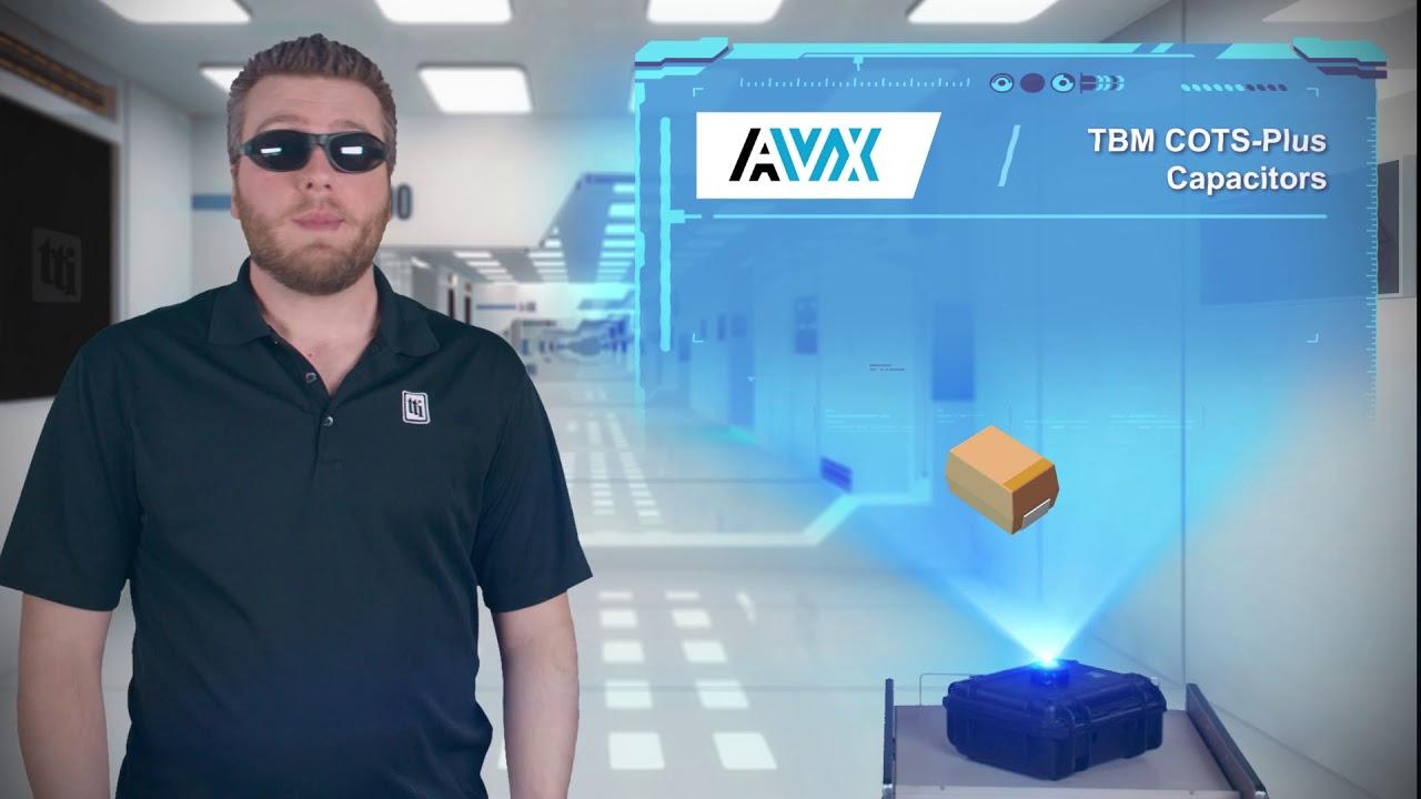 AVX Tantalum Ultra Low ESR COTS-Plus (TBM Multianode series) | Tech Specs