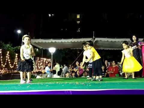 Ganpati Bappa Morya Aaj Ki Party Meri Taraf Se kids dance Ganesh Festival