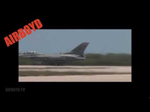 F-16s Takeoff Key West NAS (2009)