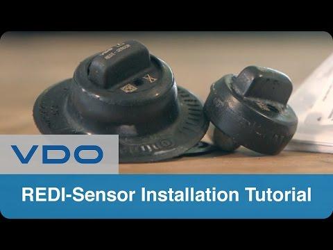 VDO REDI-Sensor | Multi Application TPMS Sensor Installation