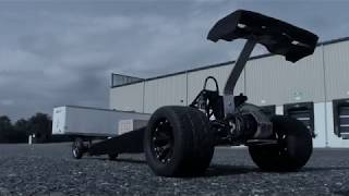 DRAGSTER BUILD PART 2 +TEST RUN AND CRASH!!