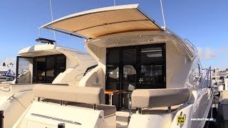2019 Carver C37 Coupe Yacht - Walkaround - 2018 Fort Lauderdale Boat Show