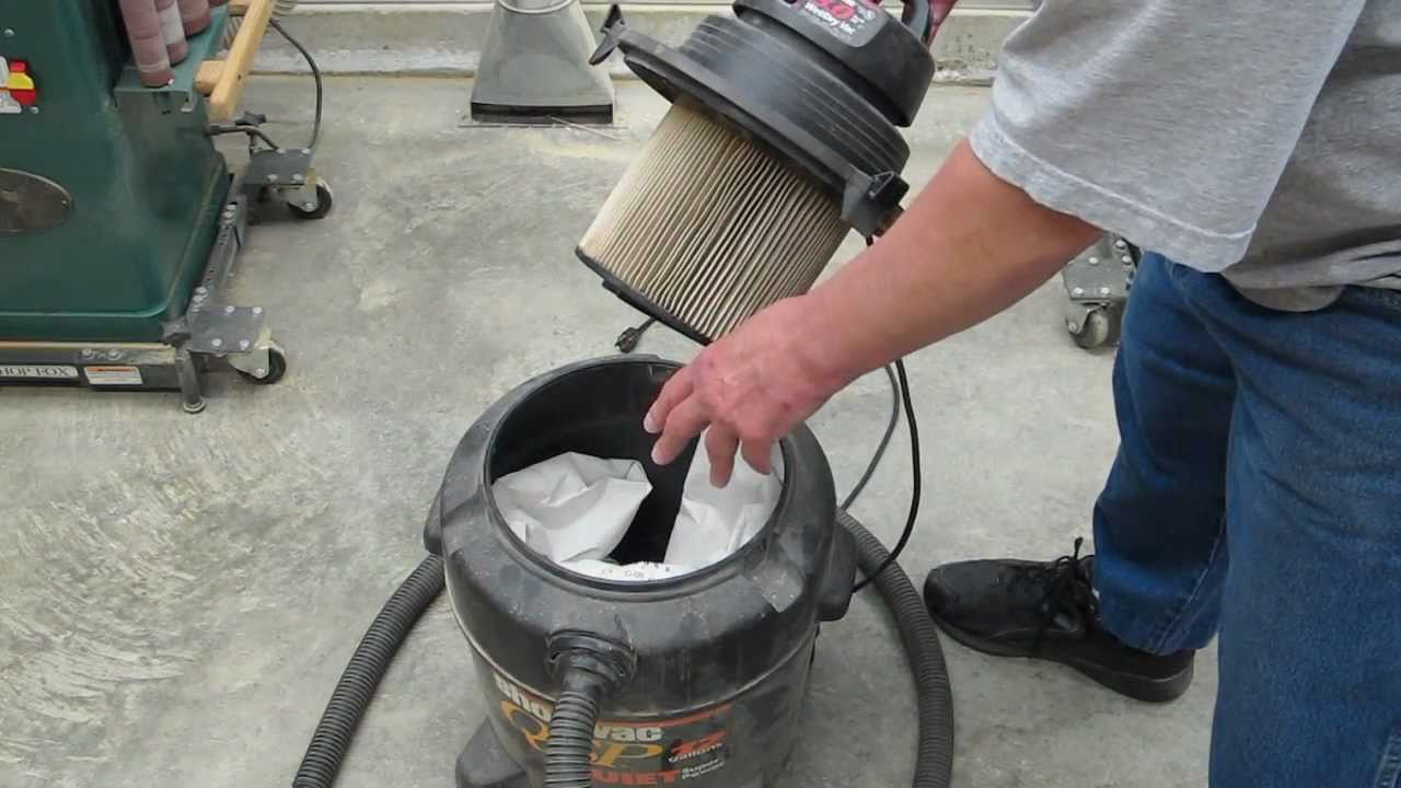 shop vac filters how to improve performance [ 1280 x 720 Pixel ]