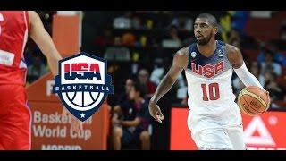 Kyrie Irving Team USA MVP Offense Highlights (2014) - INSANE!!!