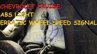 Chevy Cruze: Erratic Wheel Speed Signal