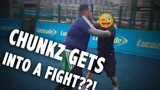 One of Loai's most viewed videos: CHUNKZ GETS INTO A FIGHT??! | VLOG #1 | #MANDM