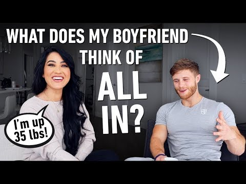 "Honest Q&A w/ My Boyfriend: Weight Gain, ""All In"", Binge Eating, My Haters ft. Jeff Nippard"