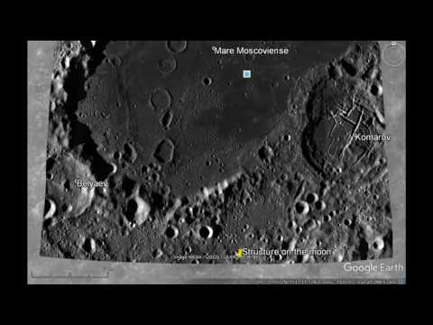Moon Structures - If you think we are alone in the Universe,