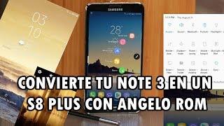 ROM ANGELO V1.0 PARA SAMSUNG NOTE 3 SM-N900 COMO UN A7/S8