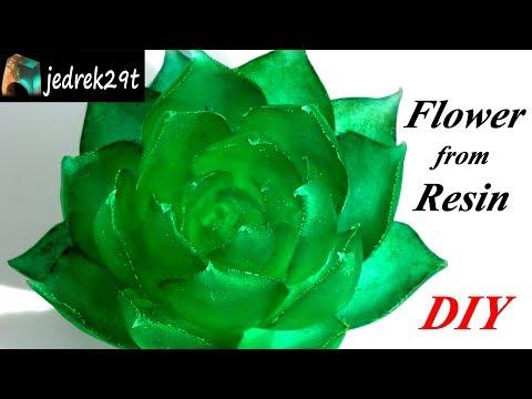 DIY. Flower from Resin/Kwiatek z Żywicy