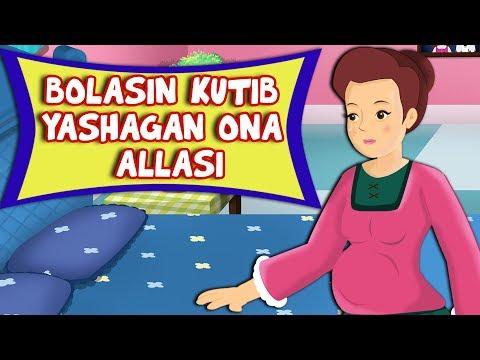 Bolasin kutib yashagan ona Allasi | Yangi ninni | Alla Колыбельная Узбекская Новая | Uzbek Lullaby