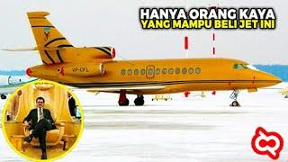 Istana Terbang Para 'Sultan'! Pesawat Jet Pribadi Termahal Berfasilitas Super Mewah