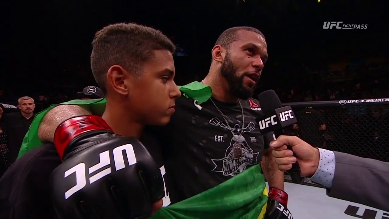 Fight Night Sao Paulo: Thiago Santos Octagon Interview