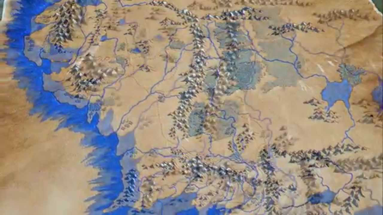 The Making of a Map of Middle Earth   YouTube