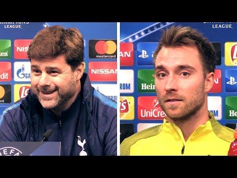Mauricio Pochettino & Christian Eriksen Full Pre-Match Press Conference - Tottenham v Dortmund