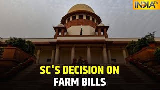 Supreme Court's Decision On Farm Bills Today, Might Constitute Panel To Discuss Farm Laws