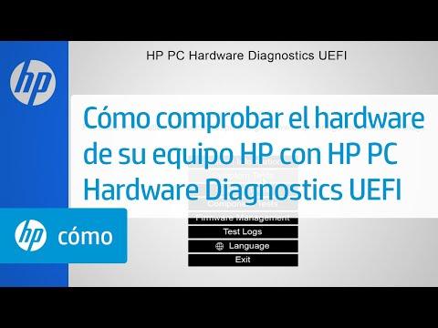 Cómo comprobar el hardware de su equipo HP con HP PC Hardware