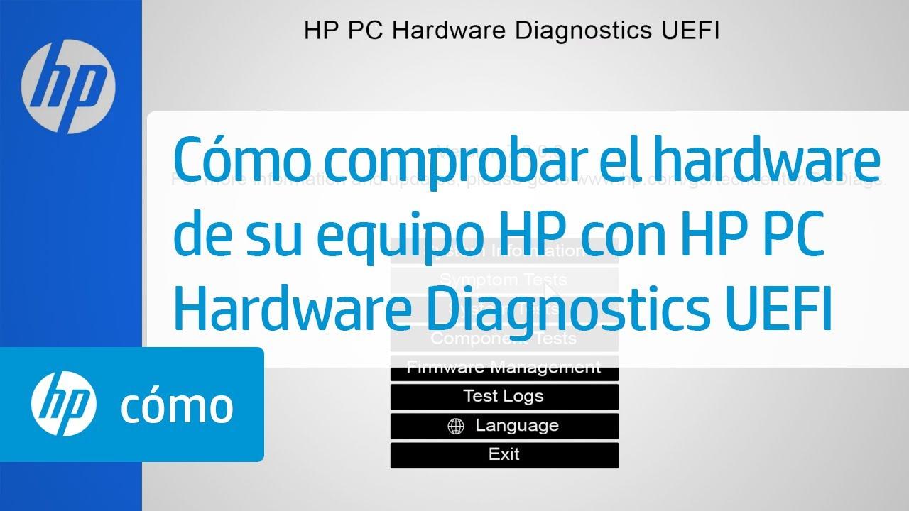 Cómo comprobar el hardware de su equipo HP con HP PC Hardware Diagnostics  UEFI | HP Computers | HP