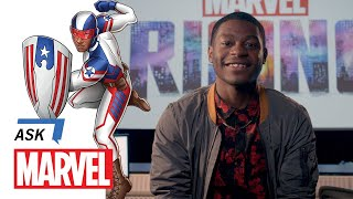 Kamil McFadden, Marvel Rising's Patriot, Answers YOUR Questions | Ask Marvel