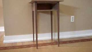 Shaker End Table Project