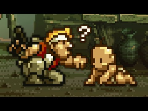 Where is METAL SLUG 2's BABY actually going? Let's try...