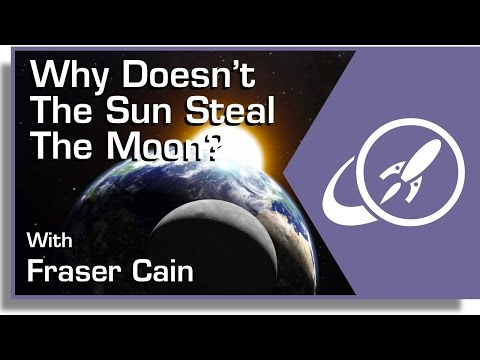 Why Doesn't The Sun Steal The Moon?