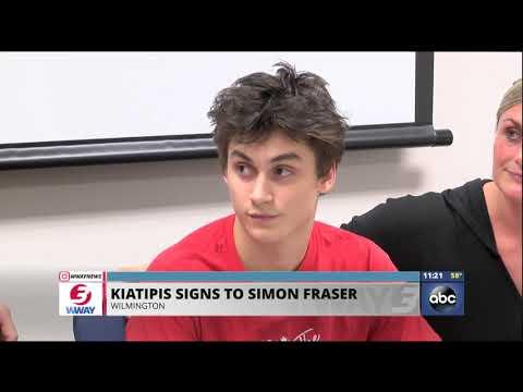 Cape Fear Academy's Kiatipis signs to Simon Fraser