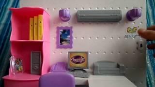 Обзор на Мебель для кукол ''Компьютерный стол''