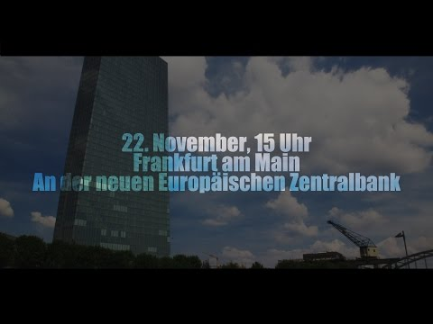 Gemeinsam für den Frieden in Europa und der Welt - [22.11.14, 15 Uhr, neue EZB, FfM]
