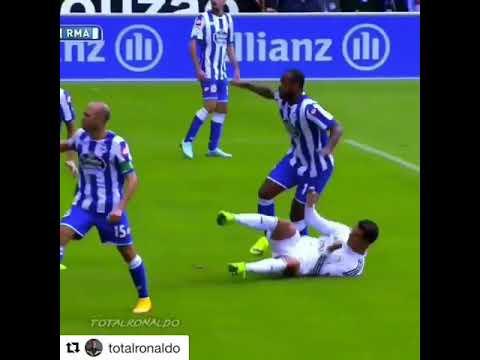 Cristiano Ronaldo jumps