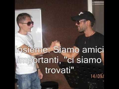 "Luca Lombardo & Marco Floris ""Un amico importante"" Karaoke"