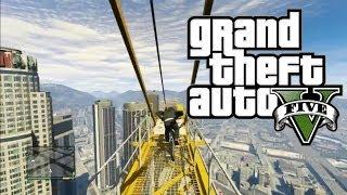 BIGGEST BIKE JUMP EVER! - GTA 5 Funny Free Roam Moments Montage (Grand Theft Auto 5)